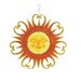 <strong>Woodland Imports</strong> Beautiful Metal / Glass Sun Plaque