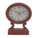 Rustic Wood Table Clock