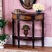 <strong>Artist's Originals Demilune 1 Drawer Console Table</strong> by Butler