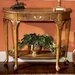 <strong>Vintage Oak Console Table</strong> by Butler