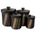 <strong>Sango</strong> 4 Piece Avanti Canister Set