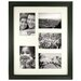 <strong>Fetco Home Decor</strong> Westlund Matted Picture Collage with 5 Photo Openings