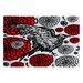 <strong>Julia Da Rocha Raven Rose Rug</strong> by DENY Designs