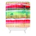 DENY Designs CayenaBlanca Ink Stripes Shower Curtain