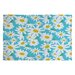DENY Designs Zoe Wodarz Daisy Do Right Blue Area Rug