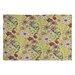 DENY Designs Pimlada Phuapradit Canary Floral Area Rug