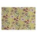 <strong>Pimlada Phuapradit Canary Floral Rug</strong> by DENY Designs