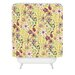 <strong>Pimlada Phuapradit Canary Floral Shower Curtain</strong> by DENY Designs