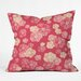 <strong>Lisa Argyropoulos Blossoms On Coral Throw Pillow</strong> by DENY Designs