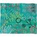 DENY Designs Kerrie Satava Summer Burst Fleece Throw Blanket