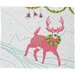 DENY Designs Betsy Olmsted Holiday Deer Plush Fleece Throw Blanket