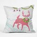<strong>Betsy Olmsted Holiday Deer Throw Pillow</strong> by DENY Designs