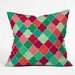 Jacqueline Maldonado Morocco Christmas Throw Pillow by DENY Designs