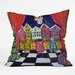 <strong>Renie Britenbucher Christmas Angel Throw Pillow</strong> by DENY Designs