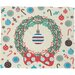 DENY Designs Sam Osborne Christmas Wreath Plush Fleece Throw Blanket
