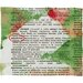 DENY Designs Susanne Kasielke Mistletoe Dictionary Art Plush Fleece Throw Blanket