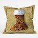 DENY Designs Madart Inc. Vintage Stocking 3 Throw Pillow