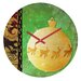 <strong>Madart Inc. Elegante Wall Clock</strong> by DENY Designs
