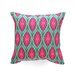 <strong>DENY Designs</strong> Wagner Campelo Ikat Leaves Indoor/Outdoor Polyester Throw Pillow