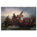 <strong>'Washington Crossing the Delaware' by Leutze Painting Print on Canvas</strong> by Buyenlarge