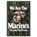 We Are The Marines Canvas Wall Art