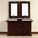 "<strong>James Martin Furniture</strong> Monterey 60"" Double Vanity Set with Wood Top"