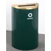 <strong>Glaro, Inc.</strong> RecyclePro Single Stream 14 Gallon Industrial Recycling Bin