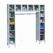 ReadyBuilt Locker Double Tier 1 Wide (Assembled)