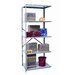 <strong>Hallowell</strong> Hi-Tech Shelving Duty Open Type 5 Shelf Shelving Unit Add-on