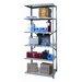<strong>Hi-Tech Heavy-Duty Open Type 6 Shelf Shelving Unit Add-on</strong> by Hallowell