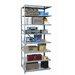 Hallowell Hi-Tech Duty Open Type 8 Shelf Shelving Unit Add-on