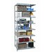 <strong>Hi-Tech Duty Open Type 8 Shelf Shelving Unit Add-on</strong> by Hallowell