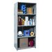 "<strong>Hallowell</strong> Hi-Tech Extra Heavy-Duty Closed Type 87"" H 4 Shelf Shelving Unit Starter"