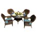 <strong>Lexington 5 Piece Dining Set</strong> by Tortuga Outdoor