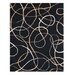Synergy Xara Ebony Rug