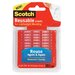 Scotch Restickable Mounting Tabs, 6/Pack