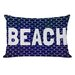 One Bella Casa Beach Knot Pillow
