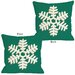 <strong>Single Snowflake Pillow</strong> by One Bella Casa