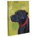 <strong>OneBellaCasa.com</strong> Doggy Decor Labrador 1 Graphic Art on Canvas