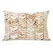 One Bella Casa Season Glitter Chevron Pillow