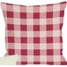 <strong>Crackin Good Lobster Plaid Pillow</strong> by One Bella Casa