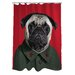 <strong>Pets Rock China Polyester Shower Curtain</strong> by One Bella Casa