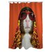 <strong>OneBellaCasa.com</strong> Pets Rock Funk Polyester Shower Curtain