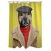 Pets Rock Dog Boy Polyester Shower Curtain