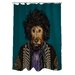 <strong>Pets Rock Psychedelic Polyester Shower Curtain</strong> by OneBellaCasa.com