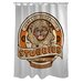 Doggy Decor Stubbies Polyester Shower Curtain