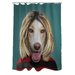 Pets Rock Grunge Polyester Shower Curtain