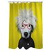 One Bella Casa Pets Rock Soup Polyester Shower Curtain
