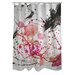 <strong>OneBellaCasa.com</strong> Oliver Gal Dawn of Times Polyester Shower Curtain