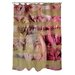 <strong>OneBellaCasa.com</strong> Oliver Gal Field of Roses Polyester Shower Curtain